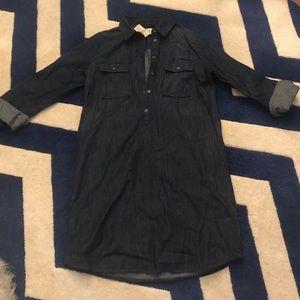 LOFT Denim Shirt dress